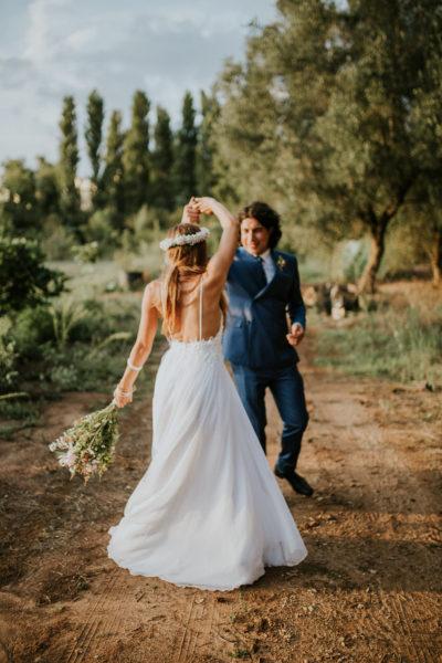 Wedding photoshoot Puglia Italy Botanical gardens