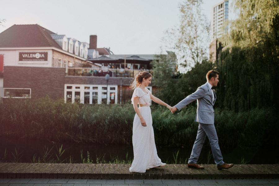 Wedding photoshoot Eindhoven Stadsbrouwerij