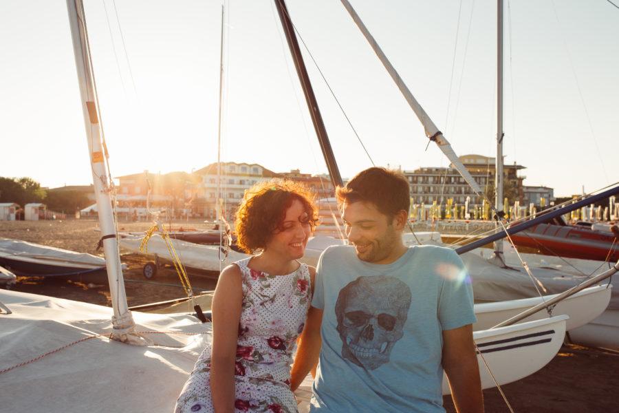 Engagement photoshoot Caorle Venice