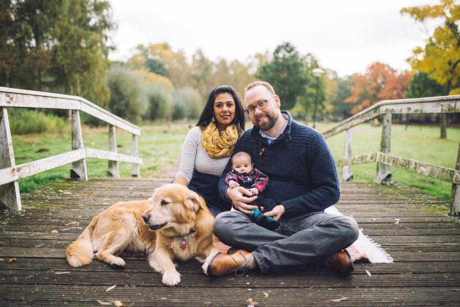 Family photoshoot park Nuenen